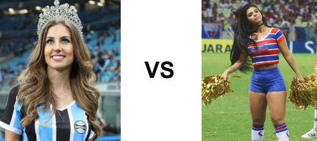 Meninas do Grêmio vs meninas do Fortaleza