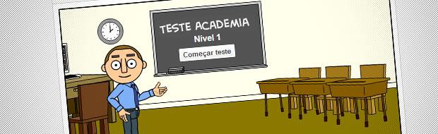 testes de conhecimentos para subir de nivel
